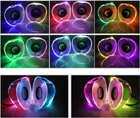 Wholesale USB LED Apple Speaker Portable Audio Mini Computer Speaker USB Notebook Computer Audio