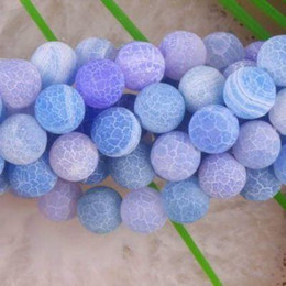 Wholesale 8mm Dream Fire Dragon Veins Agate Loose Beads quot