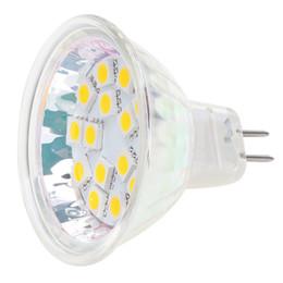 Dimmable 15LED MR16 G4 Base Light Lamp AC DC10-30V 12V 24V White Warm White Spotlight Housing Lighting