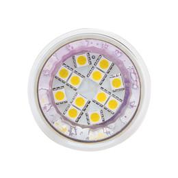 12 LED MR16 Light SMD 5050 AC DC10-30V 12V 24V Wide Volt White Warm White Spot light Down lamp