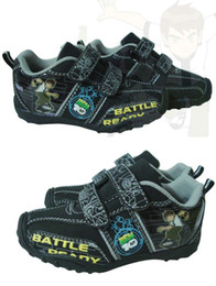 Wholesale Ben Children Sports shoes Boys ben10 Cartoon Athletic shoes Student Boy sport shoes XI20717A