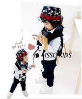 Wholesale Canvas Kids Fedora - Baby Fedora Hat Kids Canvas cowboy Jazz Cap Baby Fedora Hats Kids Dicer Child Top Hat Babys headwear