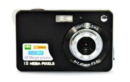 Digital Camera DSC-K09 12MP 2.7 inch LCD 8X Digital Camera anti-shake face detection