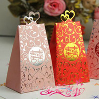 Wholesale Heart love Wedding candy box gift bags jewelry bag candy bags goodie bags box