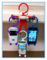 Universal   Bondi Flexible Cellphone Holder Hang it on Phone Stand for iphone 4S 4G One X Universal 30pcs