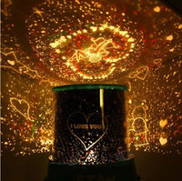 Wholesale LED star master light star projector Gifts led Lamp night light lover star master