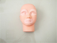 Wholesale Permanent Tattoo Makeup D Practice Skin Mannequin Head With Inserts Cosmetic Kits Supply