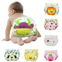 Wholesale Children cotton animal model underpants baby cartoon knickers Cattle PP pants ladybug Bread pants years old