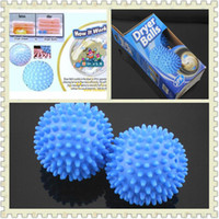 Wholesale Washing Dryer Laundry Balls Dryer Wash Balls Wrinkle Release New Retail Box By Post Air Mail