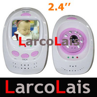 Wholesale Wireless Night Vision Baby Monitor with Inch Monitor and Two Way Audio safe and healthy