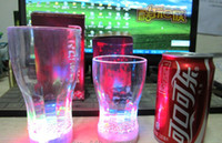 LED light up Barware Plastic Water Beer Cola Glass Cup Mug F...