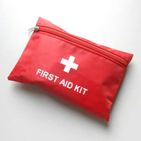 aid bags - EMERGENCY FIRST AID KIT Bag Pack TRAVEL Sport SURVIVAL V1917