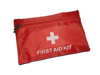 Wholesale 50 Sets First Aid Kit For Outdoor Travel Sports Emergency Survival Indoor Or Car Treatment Pack Bag by DHL