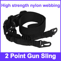 Wholesale High strength nylon webbing Point Gun Sling with mm dual rubber belts inside