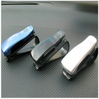 Wholesale Car glasses folder simple S car vehicle with spectacles and clip frames car notes folder Specials Ca