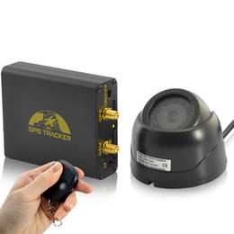 Compra Online Sistema de alarma a distancia un coche-GPS en tiempo real Tracker GPS y sistema de alarma de coche Incluye cámara GSM, control remoto, micrófono, sensor de choque, coche GPS de seguimiento de la cámara del dispositivo