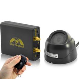 Compra Online Sistema de alarma a distancia un coche-Seguimiento en tiempo real del GPS del coche y sistema de alarma del coche (cámara del G / M, teledirigido, micrófono, sensor del choque