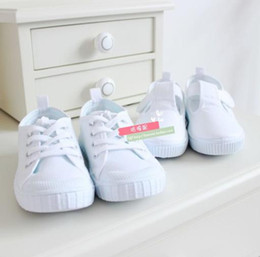 Wholesale summer shoes breathable shoes white shoes boys girls child sport shoes