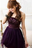 good evening - 2014 New Korean Good Guality Sweet Net Yarn Evening Party Dress Formal Attire Skirt Bridesmaid Dress YMS1