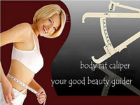 Wholesale BODY FAT TESTER Fitness Equipment Personal Body Fat Caliper Tester Accurate Measure