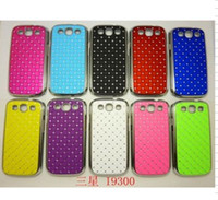 Wholesale Bling shiny Rhinestone crystal Diamond star case cover for samsung ps