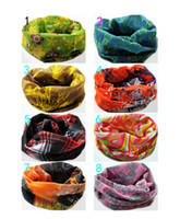 Wholesale 30pcs Antisunshine Outdoor Camping Seamless Antiultraviolet Bandana Headband Hiking Mask Hanky Scarf