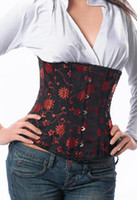 Wholesale Squeem corset for women Cotton Rubber Perfect Waist Cincher retail mix order A1252