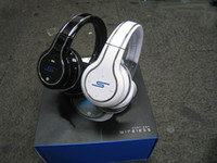 Wholesale SMS Street by Over Ear Wired Headphones with Bluetooth High Quality Black White Red colors