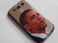Wholesale For Samsung i9300 S3 S III TPU Gel Soft Skin Case Cover with of American President Obama