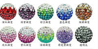 loose shamballa beads - shamballa mm Swarovski Loose shade Beads Spacer Pave Disco Ball