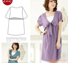 Wholesale Comfortable Safe Maternity Clothes Maternity Dress Clohes for pregnancy Two colors one
