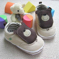 baby bear shoes - Baby boy shoes bear design First Walker Shoes baby shoes