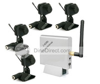 Wholesale 2 GHz Receiver amp Color CMOS Wireless Cameras Security System H723