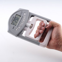 Wholesale 90kg Electronic Hand Dynamometer Hand Grip Power Meter with Comfortable grip feel