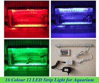 Wholesale New Colorful LED Waterproof Light Strip for Aquarium Fish Tank amp Free Adapter V3247