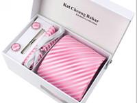 Wholesale 5pcs classic tie suit Business tie men s wedding tie Fashion gifts
