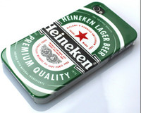 Wholesale Heineken Thailand Chang singha Beer Hard Back Housing Case Skin Cover Shell for iphone G S