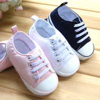 Wholesale boy girl Canvas shoes board shoes ANTISKID SHOE Baby First Walker Shoe