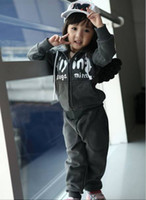 2-6T angels flying - boys girls sports clothing set childrens clothes sets flying angel wings back fleeces whole suit