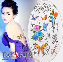 Wholesale Temporary Tattoos Fashion Waterproof Body Tattoo Sticker paper Glitter Nonto