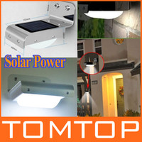Wholesale Solar Powered Sensitive Motion Sensor led lamp LEDs Outdoor Detection auto Light degree H8694