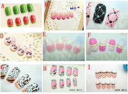 Wholesale A Variety Of Colors Of High End Nail Piece Set A Have Sets