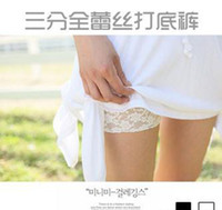 Wholesale Sexy Security - Security of lace three women pants shorts shorts pants lace leggings lace shorts hot Sexy lingerie