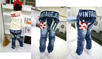 Wholesale Childrens Toddlers Kids Jeans Boy Kids Jeans Fashion Jeans Star Boy s Clothing Boys Outfit Boys Wear
