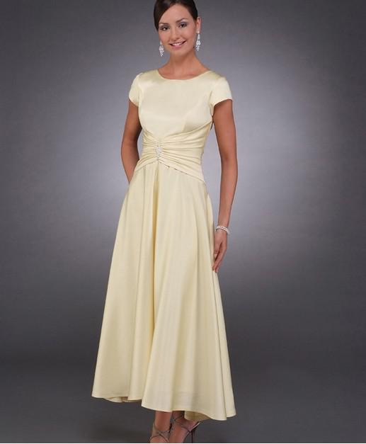 Yellow Mother Of The Bride Dresses Plus Size 77