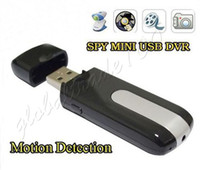 Wholesale Mini USB Disk DVR U8 HD Camera Spy DV Hidden Camcorder Motion Detection Video Recorder DHL