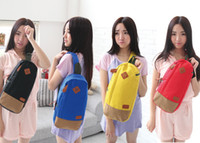 Wholesale 2012 Fashion HandBags Leisure Bags Black Yellow Red Blue Leisure bags New style shoulder bags
