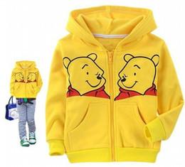 Wholesale baby s coat thick cartoon pattern children outfits unisex children s Hoodie kidsshop