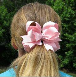 wholesale-new style baby girls solid color hair bows hair clips hair bow hairbows you can choose colors 100pcs lot