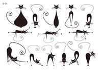 Ankle/Foot arm candies - Candy tattoo sticker Temporary Tattoo Stickers For Body Art Painting Waterproof Sex cat V1918